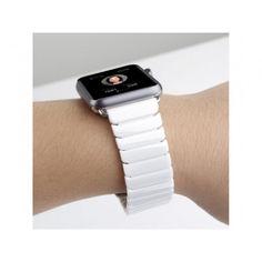 Акция на Ремешок для часов Apple Watch 38/40 mm Ceramic White от Allo UA