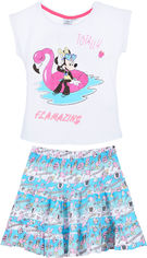 Костюм (футболка + юбка) Disney Minnie SE1432 128 см Синий (3609083439607) от Rozetka