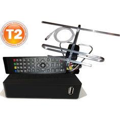 Акция на DVB-T2 + антена для Т2 комнатная от Allo UA