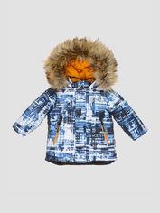 Акция на Зимняя куртка Evolution 09-ЗМ-20 80 см Джинсовая (4823078575265) от Rozetka