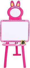 Акция на Мольберт 3в1 Bambi 0703 UK-ENG Pink (0703 UK-ENG pink) (6903122905014) от Rozetka