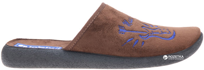 Комнатные тапочки Inblu AC-4X 42 Темно-коричневые от Rozetka