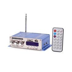 Акция на Hi-Fi усилитель в авто HY-502, USB SD DVD CD FM MP3 плеер от Allo UA