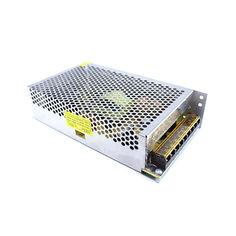 Акция на Блок питания перфорированный 12 В 20 А 240 Вт, 3-кан для LED-лент CCTV от Allo UA