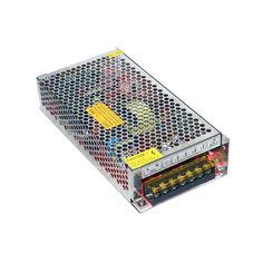 Акция на Блок питания перфорированный 12В 16.6А 200Вт, 2-кан для LED-лент CCTV от Allo UA