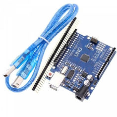 Акция на ARDUINO UNO R3 ATMEGA328P-AU USB AVR CH340G ПЛАТА + USB КАБЕЛЬ от Allo UA