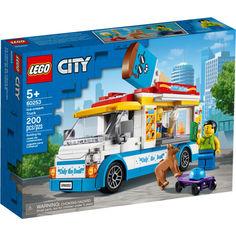 Акция на LEGO® City Грузовик мороженщика (60253) от Allo UA