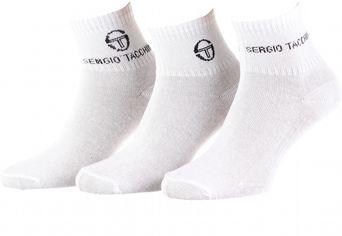 Акция на Набор носков Sergio Tacchini 13890912-1 3 пары M 36-40 Белый (3349600135819) от Rozetka