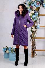 Акция на Куртка Favoritti ПВ-994н/м 46 Фиолетовая (4900000156768) от Rozetka