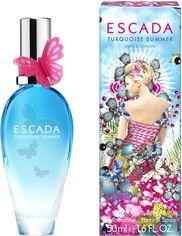 Акция на Туалетная вода для женщин Escada Turquoise Summer 50 мл (ROZ6400050055) от Rozetka
