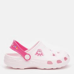 Акция на Кроксы Coqui 8701 31/32 20.5 см Pale Pink/Lt. Fuchsia (8595662616727) от Rozetka