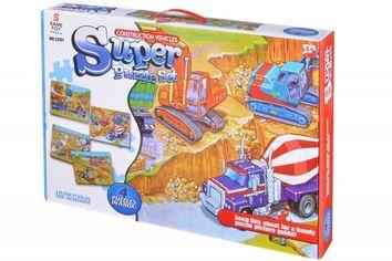 Акция на Пазл  Same Toy Строительная техника (2201UT) от MOYO