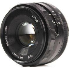 Акция на Meike 35mm f/1.7 MC E-mount для Sony (MKE3517) от Allo UA