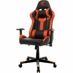 Акция на Кресло GT Racer X-2527 Black/Orange от Allo UA