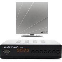 Акция на World Vision T62A с Комнатной антенной ARU-01 от Allo UA
