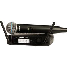 Акция на Радиосистема SHURE GLXD24E/B58 от Allo UA