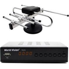 Акция на World Vision T62A с Комнатной антенной Т2 Волна 2 от Allo UA