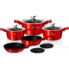 Акция на Набор посуды Berlinger Haus 10 предметов (BH 1222N) от Allo UA