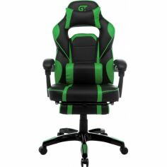Акция на Кресло GT Racer X-2749-1 Black/Green от Allo UA