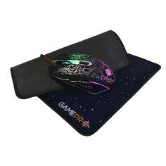 Акция на Мышь GamePro Gameset 2 в 1 GS347 USB с игровой поверхностью от Rozetka