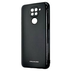 Акция на Чехол-накладка Silicone Molan Cano Jelly Case для Xiaomi Redmi 9 (black) от Allo UA
