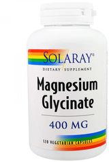 Акция на Solaray Magnesium Glycinate 400 mg 120 Veggie Caps Магний глицинат от Stylus