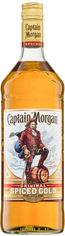 """Акция на Алкогольный напиток на основе Карибского рома Captain Morgan """"Spiced Gold"""" 1л (BDA1RM-RCM100-008) от Stylus"""