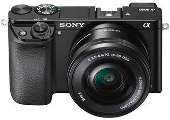 Акция на Sony Alpha A6000 kit (16-50mm) Black Английское меню от Stylus