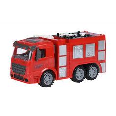Акция на Машинка инерционная Same Toy Truck Пожарная машина (98-618Ut) от Allo UA