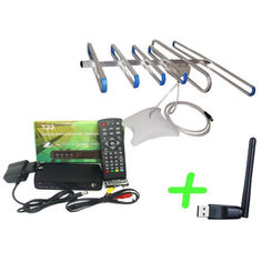 Акция на Т23 + антенна для Т2 комнатная SUPER + WiFi-адаптер от Allo UA