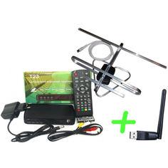 Акция на Т23 + антенна для Т2 комнатная + WiFi-адаптер от Allo UA