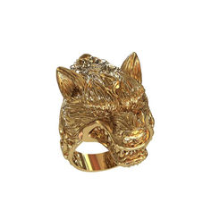 Акция на Кольцо волк Maxi Silver 8571 SE, размер 20 от Allo UA
