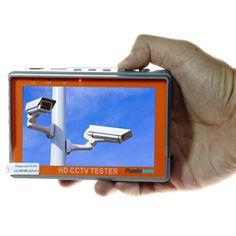 Акция на Видеотестер - портативный монитор для настройки видеокамер Pomiacam IV5, AHD TVI CVI CVBS до 8 Мегапикселей от Allo UA