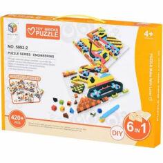 Акция на Пазл Same Toy Colour ful designs 420 эл 5993-2Ut от Podushka