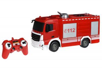 Акция на Машинка на р/у Пожарная машина с распылителем воды Same Toy E572-003 от Podushka