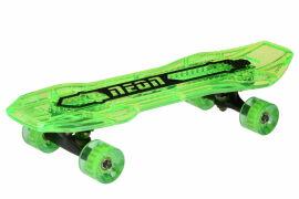 Акция на Скейтборд Neon Cruzer Зеленый N100792 от Podushka