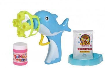 Акция на Мыльные пузыри Same Toy Bubble Gun Дельфин голубой 802Ut-1 от Podushka