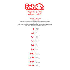 Акция на Человечек Bebetto Giraffe, р. 74 K2701 ТМ: Bebetto от Antoshka