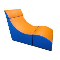 Акция на Мягкое складное кресло для детей и взрослых со съемных чехлом для квартиры, офиса Трансформер 119х60х81 см от Allo UA