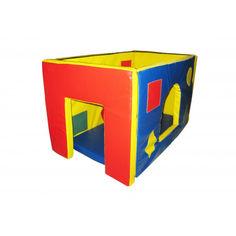 Акция на Мягкий игровой Модуль-трансформер Домик Мини для детей от 1 года для дома, игровых центров, детсада 90х60х60см от Allo UA