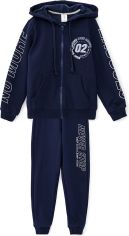 Акция на Спортивный костюм ROZA 200506 134 см Темно-синий (4824005581854) от Rozetka