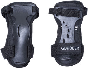 Акция на Комплект защитный детский Globber для ребенка 50 кг XL Черный (553-120) от Rozetka