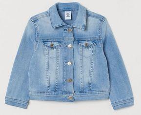 Акция на Джинсовая куртка H&M 0739863 122 см Голубая (2000001680810) от Rozetka
