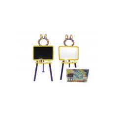 Акция на Доска для рисования магнитная 013777/4 желто-фиолетовый от Allo UA