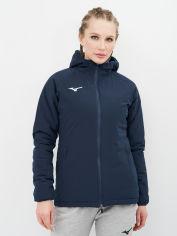 Акция на Куртка Mizuno Wom Padded Jacket 32EE770014 S Синяя (5054698255018) от Rozetka