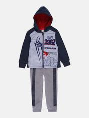 Акция на Спортивный костюм Disney Spiderman TH1310 104 см Серый (3609084613907) от Rozetka