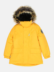 Акция на Зимняя куртка-парка Lenne Snow 20341/109 116 см Желтая (4741578634087) от Rozetka