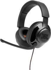 Акция на Навушники JBL Quantum 300 (JBLQUANTUM300BLK) Black от Територія твоєї техніки