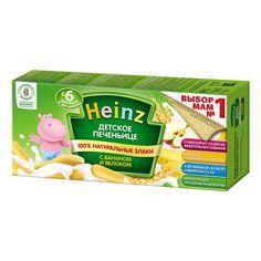 Акция на Детское печенье Heinz Банан и яблоко 160 г 70077200 ТМ: Heinz от Antoshka