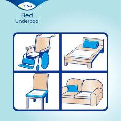 Акция на Одноразовые пеленки TENA Bed Plus, 60х60 см, 5 шт. 210482/770064 ТМ: TENA от Antoshka
